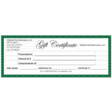 Gift Certificate for Black Hills Gold Jewelry