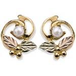 Genuine Pearl Earrings - by Stamper